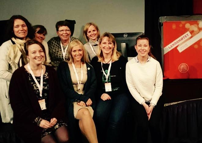 Delegasjonen fra NSF Troms 2015